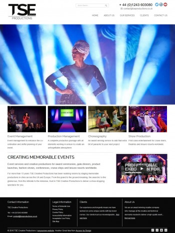 Event management company builds their own Run Your Own Website!